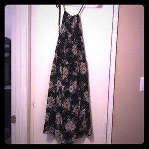Torrid navy floral dress
